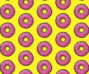 donuts, sprinkles, and pink image