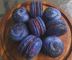 food, galaxy, and sweet image