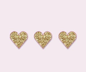 baby pink, glitter, and gold image