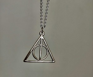 deathly hallows, harrypotter, and reliquiasdamorte image