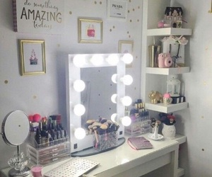 makeup, decor, and ideas image