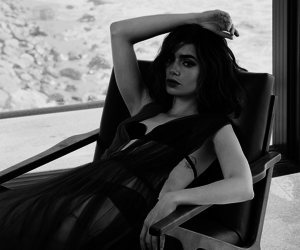 lily collins, actress, and photoshoot image