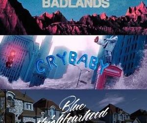 badlands, crybaby, and halsey image