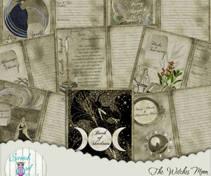 etsy, pagan, and witch image