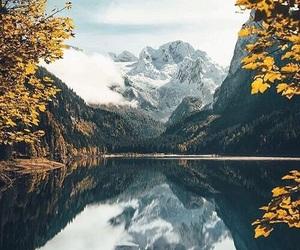 autumn, lake, and nature image