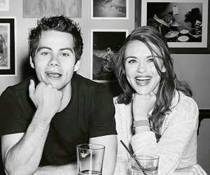 teen wolf, dylan o'brien, and holland roden image
