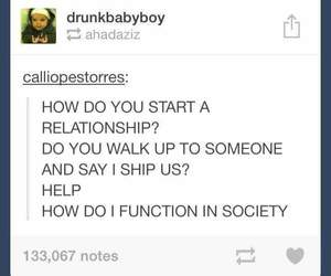 funny, Relationship, and tumblr image
