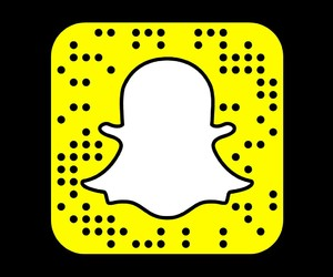 snap, snapcode, and followme image