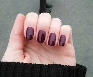 cold, nail art, and purple image