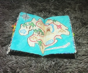 map, wreck this journal, and secret map image