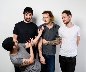 the 1975, ross macdonald, and adam hann image