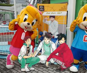 Amusement Parks, anime, and haikyuu!! image