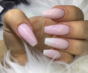 acrylic, nail, and nails image