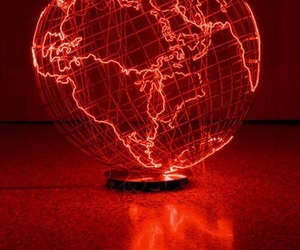 red, aesthetic, and world image