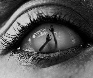 eye, eyes, and help image