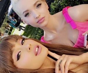 Queen, dove cameron, and dangerous woman image