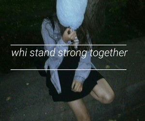 girls, strong, and we heart it image