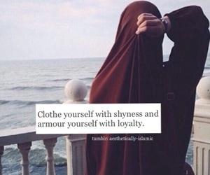 islam, hijab, and muslim image