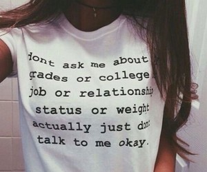 quote, grunge, and shirt image