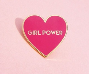 pink and girl power image