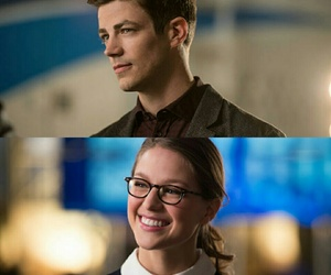 flash, Supergirl, and barry allen image