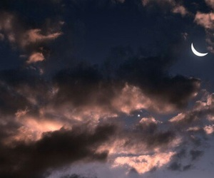 sky, moon, and theme image