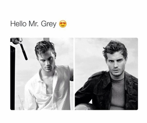 christian grey, Jamie Dornan, and Hot image