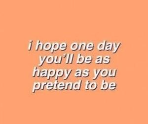 quotes, happy, and orange image