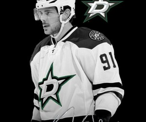hockey, patterns, and dallas stars image