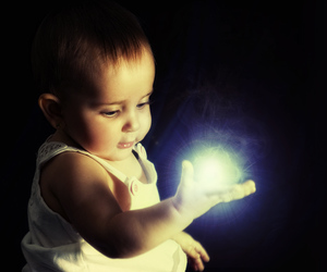 infant, baby, and magic image