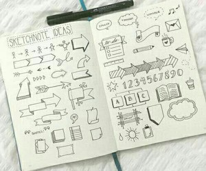 notes, school, and ideas image