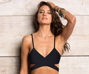 bralette, fashion, and swimsuit image
