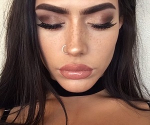 beaut, beauty, and girl goals image