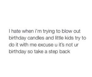 funny, birthday, and child image