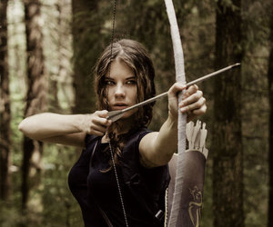 archery, bow, and fantasy image