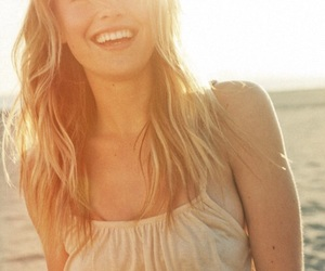 beach, smile, and zella day image
