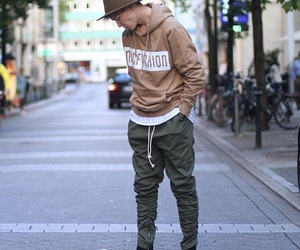 fashion, hipster, and men image