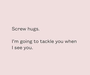 hugs, quotes, and words image