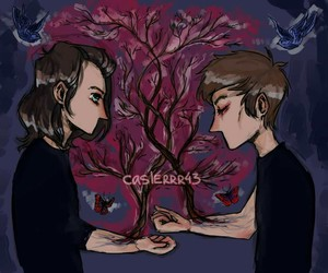 larry stylinson, fanart, and one direction image