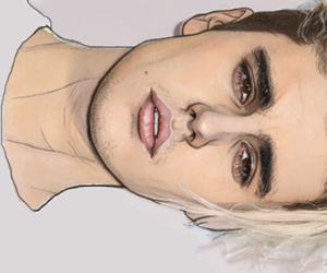 draw and justin bieber image