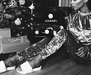 christmas, fashion, and glam image