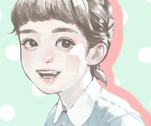 art, girls, and kawaii image