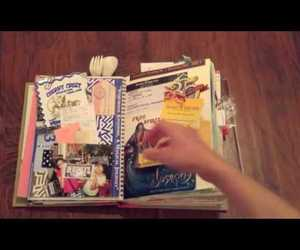 book, smash book, and ideas image
