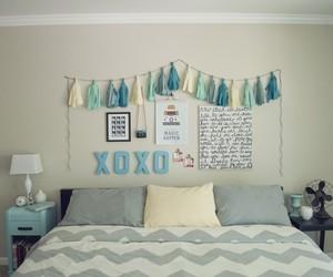 bedroom, room, and xoxo image