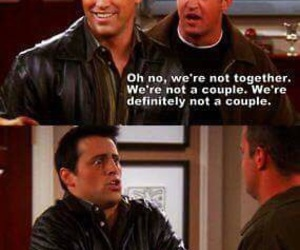 friends, Joey, and chandler image