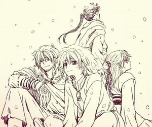 akatsuki no yona, anime, and zeno image