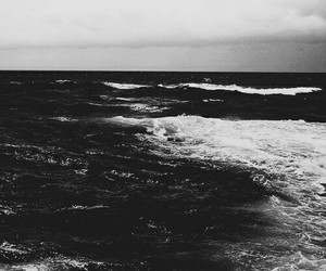black and white, dark, and photography image