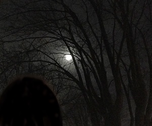 alone, dark, and eerie image