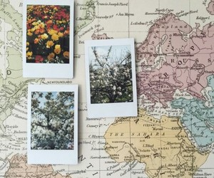 map, photo, and vintage image