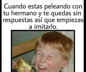 divertido, funny, and hermanos image